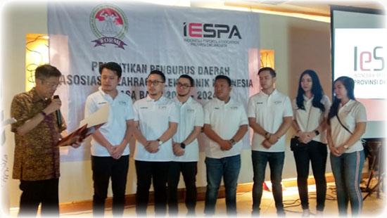 Pelantikan Kepengurusan IESPA Provinsi DKI Jakarta