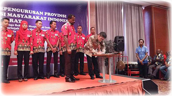 Pelantikan Kepengurusan IeSPA Provinsi Papua Barat