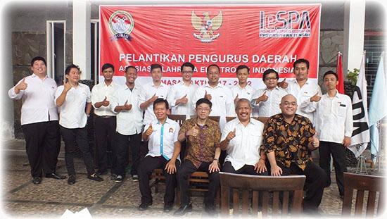 Pelantikan Kepengurusan IESPA Provinsi Jawa Tengah