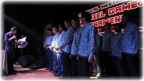 Pelantikan Kepengurusan IESPA Provinsi Riau