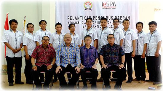 Pelantikan Kepengurusan IESPA Provinsi Bali
