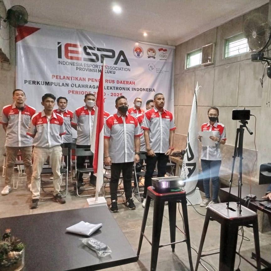 Pelantikan Pengurus IESPA Provinsi Maluku 2020-2025